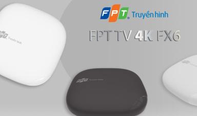 Truyền hình FPT công bố thiết kế nổi bật của bộ giải mã mới mang tên FPT TV 4K FX6